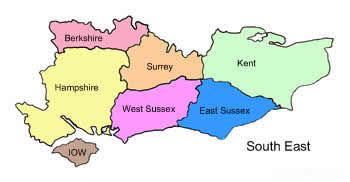 campsites in the south east of england uk