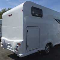 Example of a garage model motor home