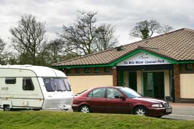 Antrim  - Campsite - Six Mile Water Caravan Park